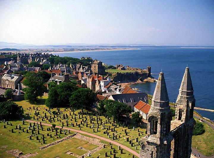 Edinburgh, St Andrews & Whisky - 4 dages rejse i Skotland - Travel's Easy